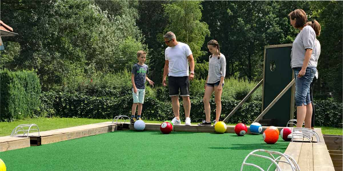 Voetpool 1 - Picth en Putt Golf Bussloo